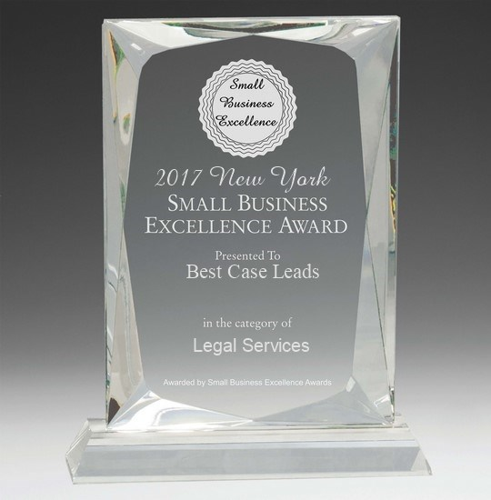 For Second Year in a Row, Best Case Leads Wins New York Small Business Excellence Award